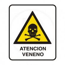 Cartel de advertencia 7-150