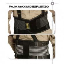 Cinturon Con Soporte Lumbar Reforzado