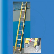Escalera extensible dielectrica