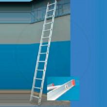 escalera de aluminio simple o paralela