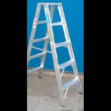 Escalera tijera doble acceso