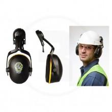 Protector Auditivo de copa L-340 Para Casco Con Adaptador