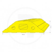 Reductor De Velocidad 160X45 Mm 0097E X