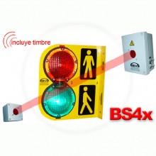 Semaforo Con Barrera Infrarroja Bs4X