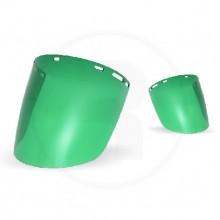 Visor Tipo Burbuja Verde 23 Cm