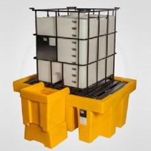 Pallet para contenedor de derrame 1 cubitainers