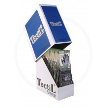 Exhibidor Tactil Foam Nbr 20-102 X 24 pares Talle 08