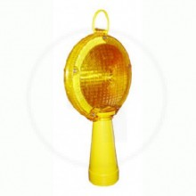 Baliza Led Dobl Faz/Sensor Solar+Cono Ad