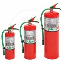 Extintor HCFC 123.