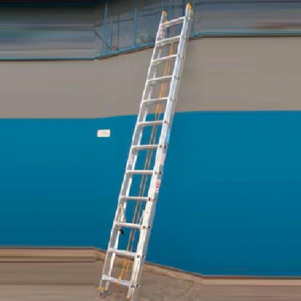 Escalera extensible de aluminio - Escalera de aluminio extensible ...